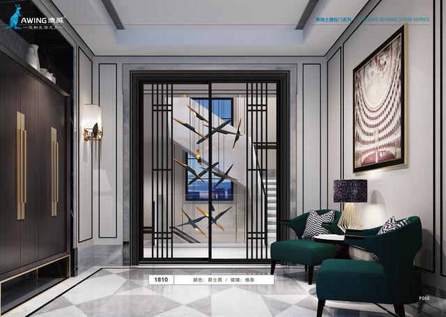 澳威品牌铝合金推拉门窗以简约格调打造精致生活